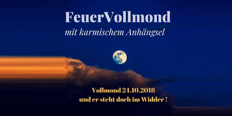Vollmond im Widder 24.10.2018 1