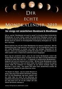Letzte Vollmond des Jahres 2018 - Vollmond in den Zwillingen - siderische Astrologie Prognose