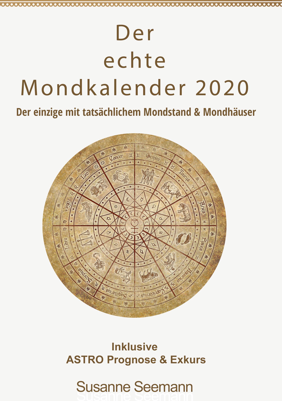Der siderische Mondkalender 2020 - der echte Mondkalender ebook