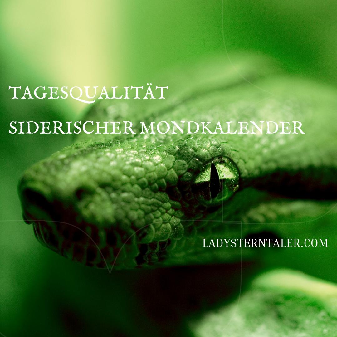 Der siderische /vedische Mondkalender -Tagesimpuls 02.01.21