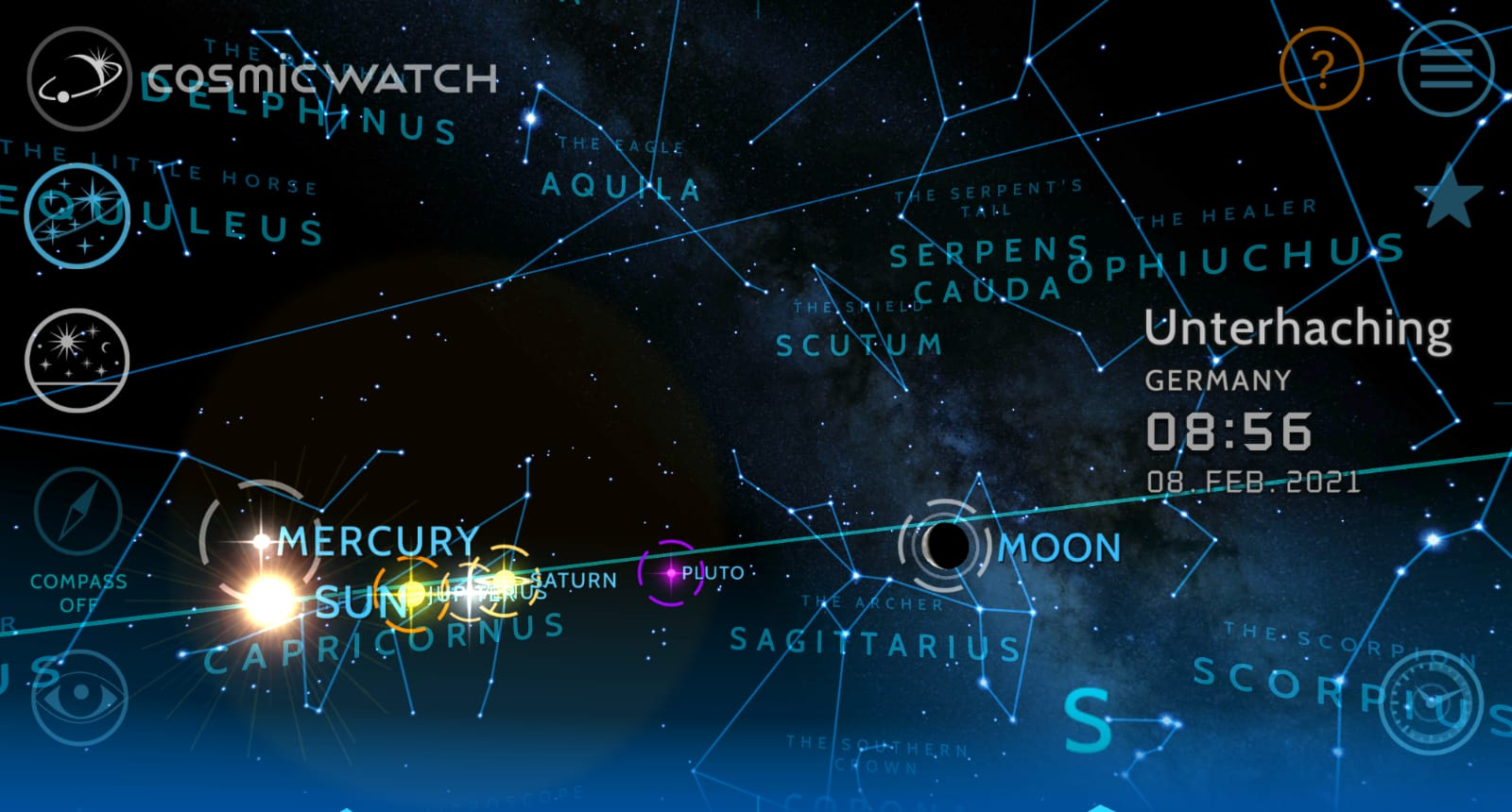 Der siderische Mondkalender
