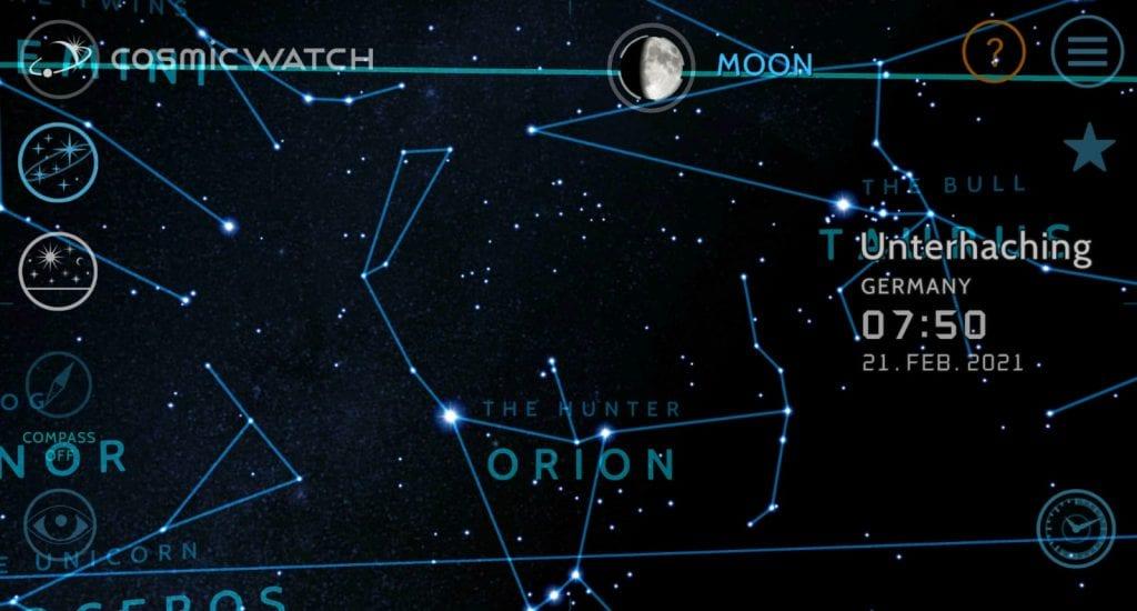 Siderische Mondkalender Zwillinge Orion