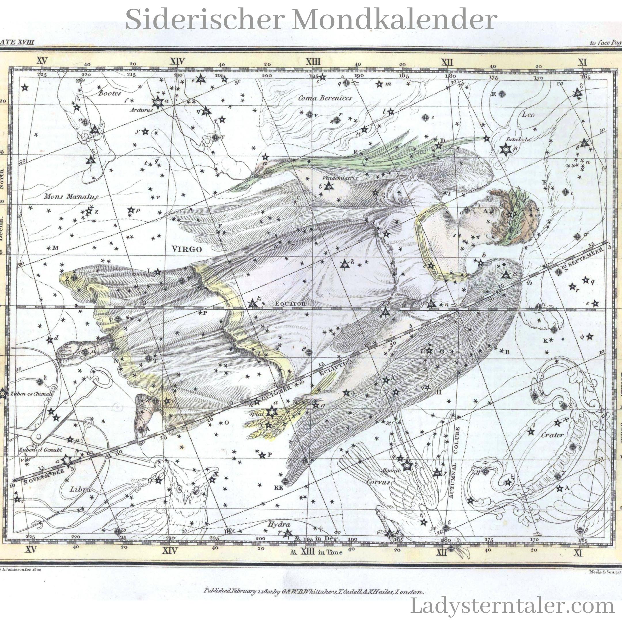 Siderischer Mondkalender (3)