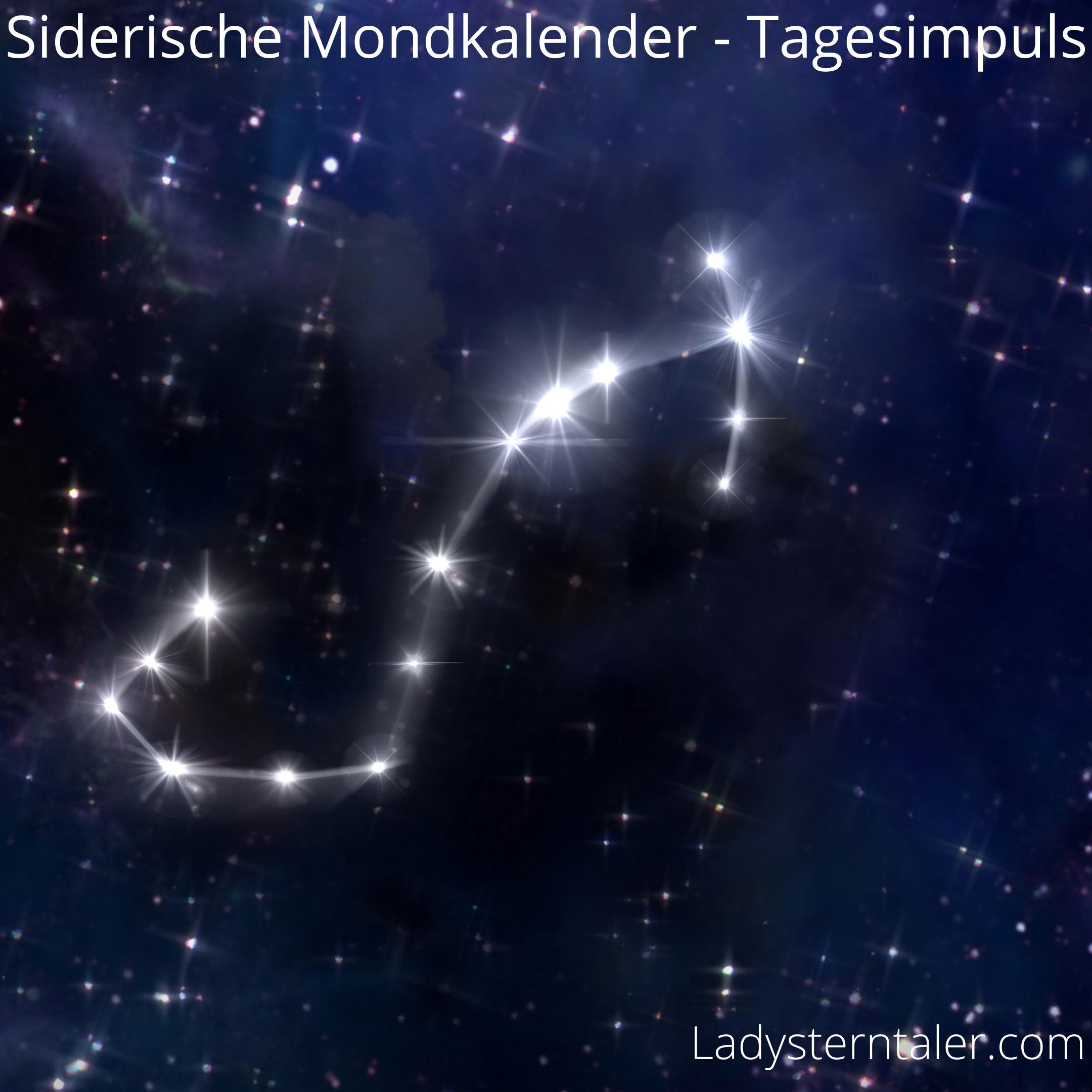 Siderischer Mondkalender Skorpion (1)