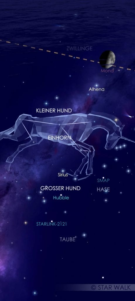 Siderische Mondkalender Sirius