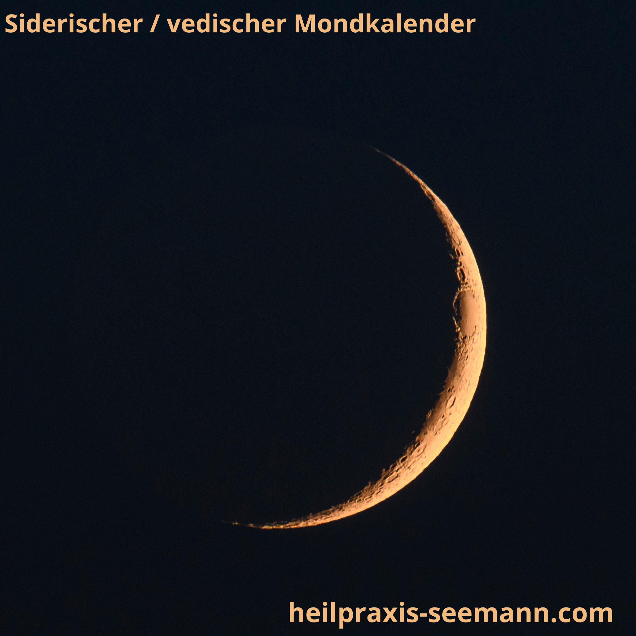 Siderische Mondkalender Neumond