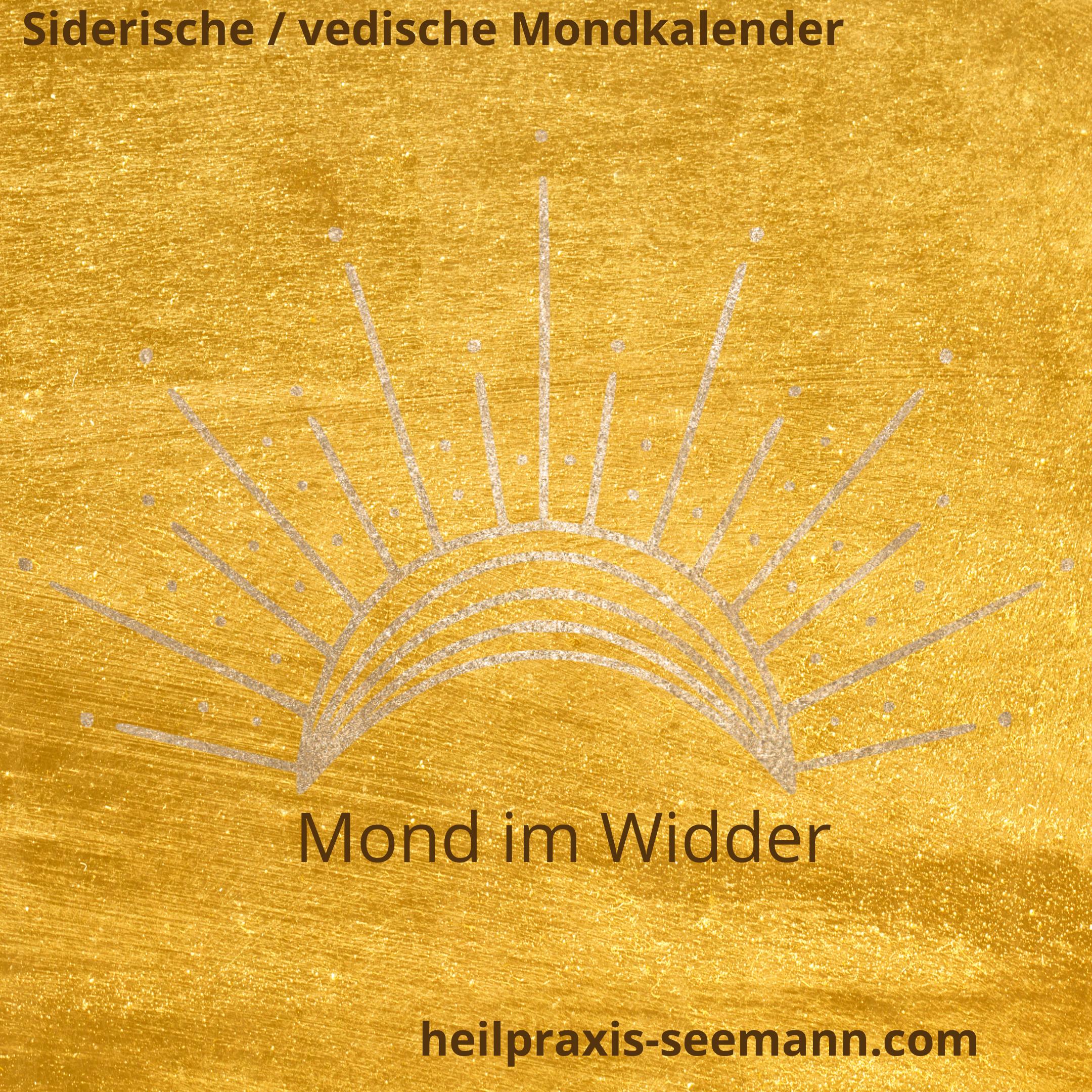 Siderische Mondkalende Widder (1)
