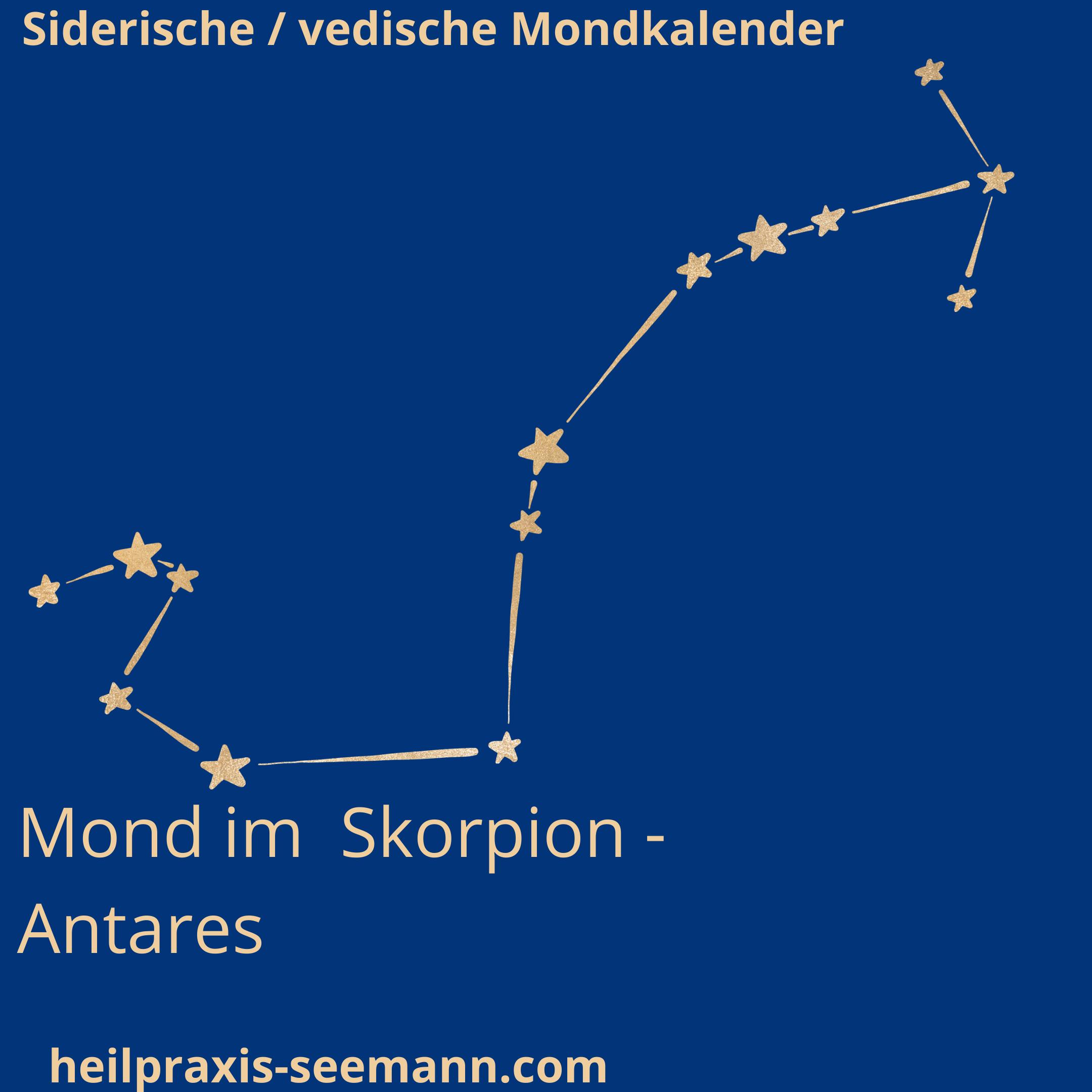 Siderische Mondkalender Mond im Skorpion (2)