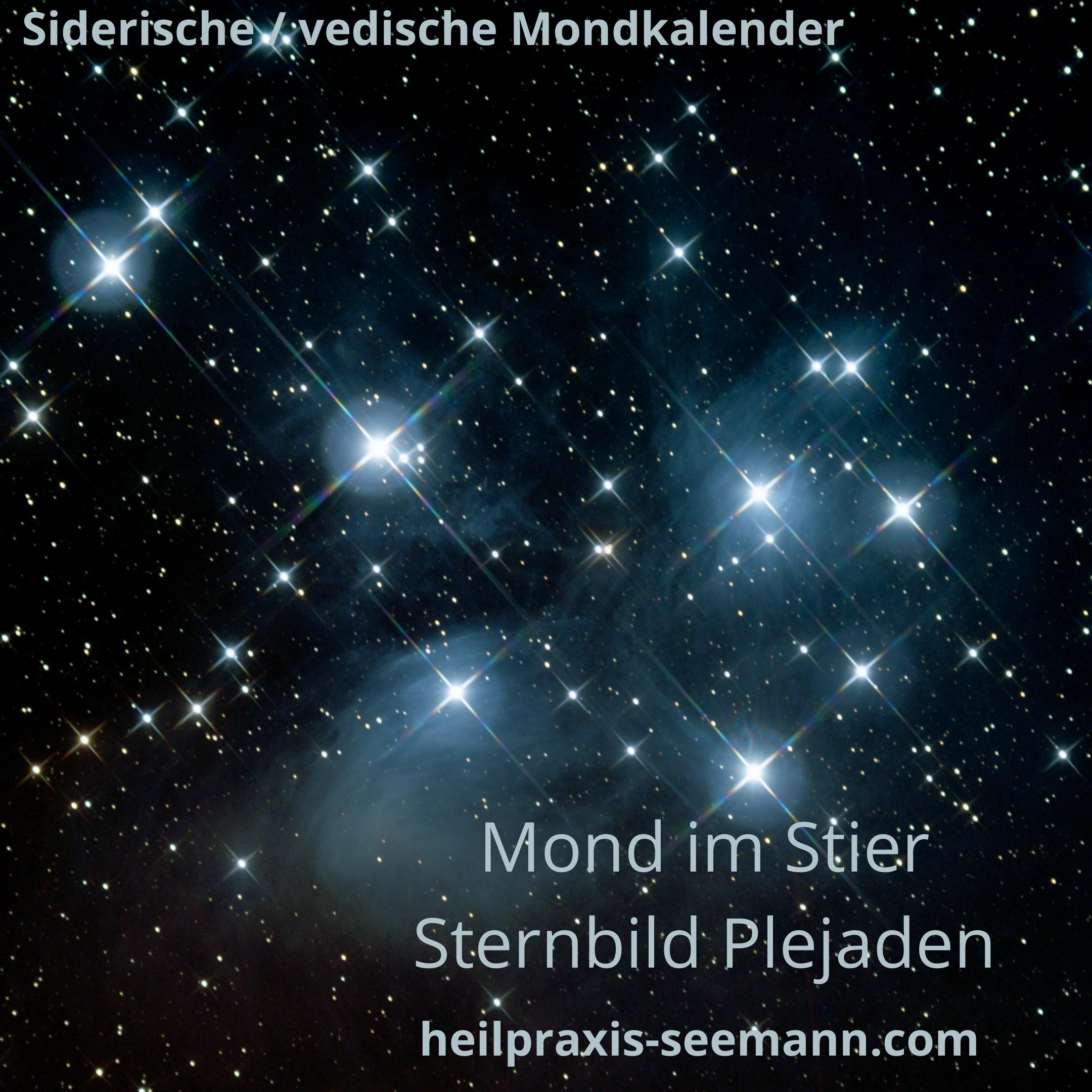 Siderische Mondkalender Stier