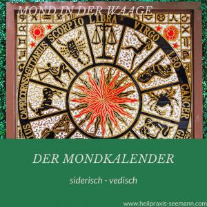 Der Mondkalender siderisch vedisch Waage (5)